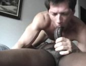 Black Cock In His Throat