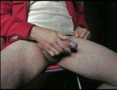 Cumming On My Leg
