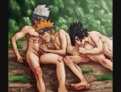 Gay Naruto Artwork