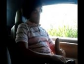 HUNG COCK JERKING IN CAR