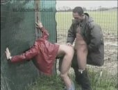 Talent Scout - Outdoor Fuck