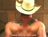 Sexy Cowboy Getting Hot on the Farm