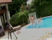 Hot Boys Poolside Fucking