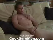 Alton Cox Solo Masturbation Session