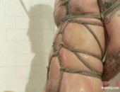 BDSM Rugby Player Tortured