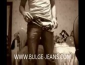 BIG JEANS BULGE