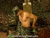 Military Twink Gets Naked