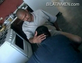 Hot Latino Guy Shows Off His Big Uncut Verga And Gets Sucked Off