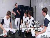 Major League Part 3 - JO - Jizz Orgy - Johnny Rapid - Andrew Stark - Mike De Marko - Riley Banks   - Hunter Page