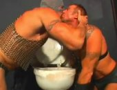 Mature Horny Hunks Orgy