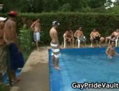 Pool Naked Party