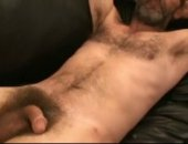 hairy silver daddy solo