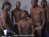 hung black thug orgy
