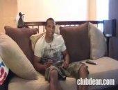 black dude strip tease