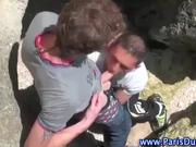 French outdoor gays sucking cock
