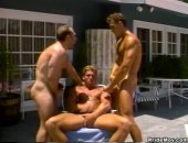 Outdoor Guys Threesome