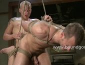 Tied Guy Fucked