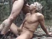 Blonde Jungle Blowjob