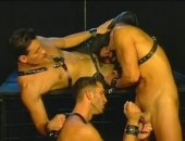 Leather Threesome