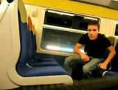 Masturbating On A Train