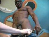 White babe sucking a nice black cock,