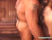 Bear In The Sauna