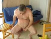Mature Man Pissing