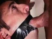 Taped Open Mouth