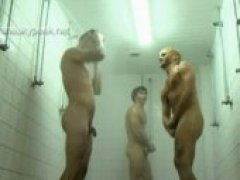 3 Dudes Shower Together