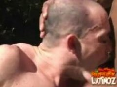Forest Fucking with Raw Latino Buttsex