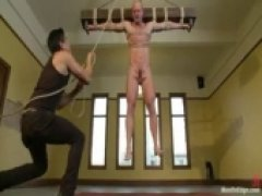 The Muscle Stud Tied and Fucked