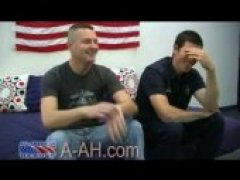 Staff Sergeant Gives His First Gay BlowJob