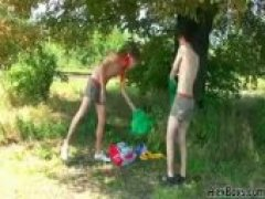 Twink Scouts Outdoor Fucking
