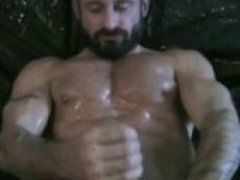 German Muscle Solo Cum