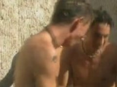 Twinks Shower Outdoors