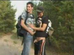 big dick boys in the bush