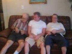 3 old men