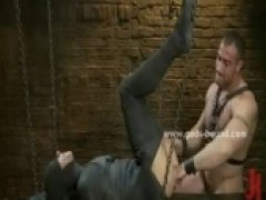 insane hardcore bdsm stars drooling and choking