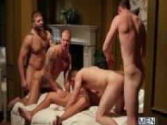 Rods Fantasy - Jizz Orgy - Bobby Clark - Colby Jansen - Andrew Stark - Duncan Black - Rod Daily