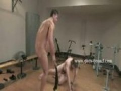 Shaved Naked Hunk In Nasty Bdsm Sex
