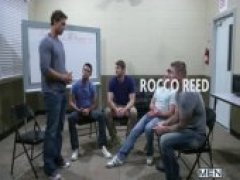 Sex Addicks Anonymous - Jizz Orgy - Trevor Knight - Colby Keller - Colby Jansen - Rocco Reed - Mike De Marko
