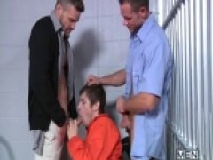 Prison Shower 4 - DMH - Drill My Hole - Johnny Rapid - Landon Conrad - Cooper Reed
