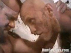 Hot Hunk Pounding Threeway