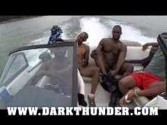 thunder thugs fuck on a boat