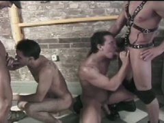 fist and fuck leather orgy