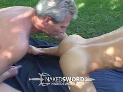silver daddy and his blonde