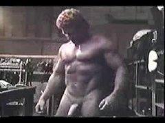 Vintage Muscle Handjob
