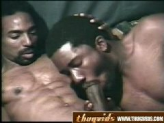 Black Thug Blowjob