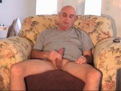 Mature Sofa Handjob