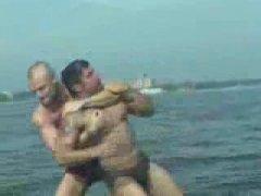 Beach Wrestlers